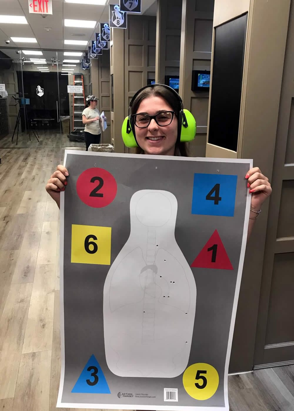 Ladies Beginner Pistol 100 Class